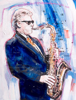 Bill Clinton Sax